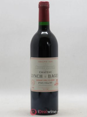 Château Lynch Bages 5ème Grand Cru Classé  1988 - Lot de 1 Bottle