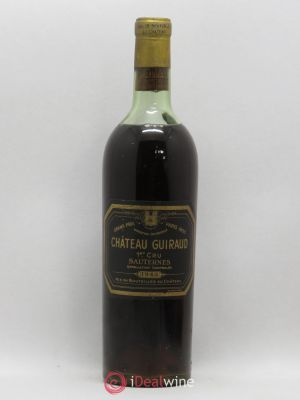 Château Guiraud 1er Grand Cru Classé  1945 - Lot de 1 Bottle