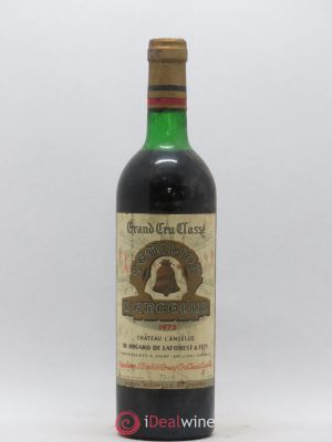 Château Angélus 1er Grand Cru Classé A  1975 - Lot de 1 Bottle