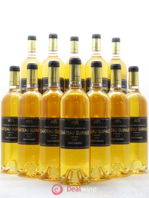 Bottle Château Guiraud 1er Grand Cru Classé  2010 - Lot de 12 Bottles