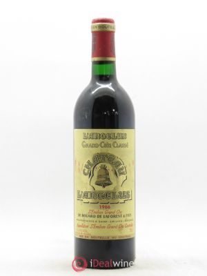 Château Angélus 1er Grand Cru Classé A  1986 - Lot de 1 Bottle