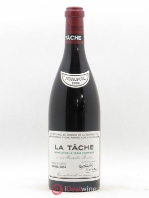 La Tâche Grand Cru Domaine de la Romanée-Conti  (no reserve) 2004 - Lot de 1 Bottle