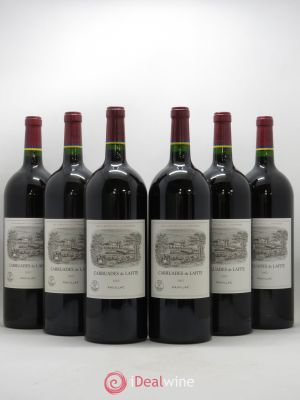 Carruades de Lafite Rothschild Second vin  2003 - Lot de 6 Magnums
