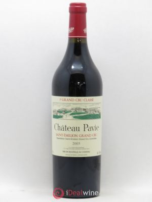 Château Pavie 1er Grand Cru Classé A  2005 - Lot de 1 Bottle