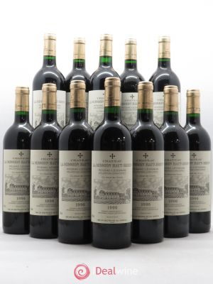 Bottle Château La Mission Haut-Brion Cru Classé de Graves  1996 - Lot de 12 Bottles