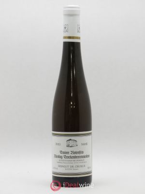 Allemagne Traiser Rotenfels Riesling Trockenbeerenauslese Weingut Dr. Crusius 2003 - Lot de 1 Bouteille