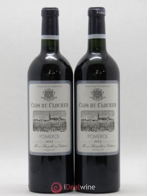 Pomerol Clos Du Rocher 2007 - Lot de 2 Bottles