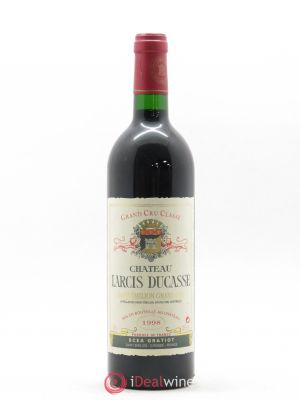 Château Larcis Ducasse 1er Grand Cru Classé B  1998 - Lot de 1 Bottle