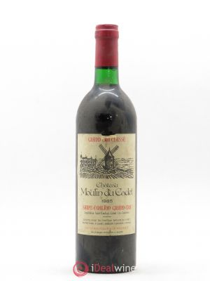 Château Moulin du Cadet Grand Cru Classé  1985 - Lot de 1 Bottle