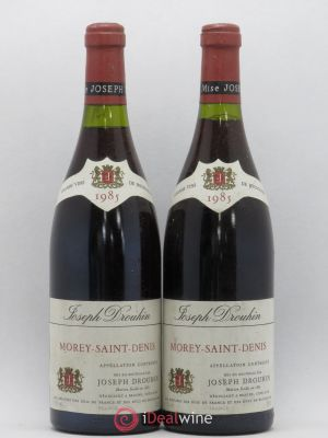 Morey Saint-Denis Joseph Drouhin 1985 - Lot de 2 Bottles