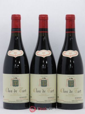 Clos de Tart Grand Cru Mommessin  2005 - Lot de 3 Bottles