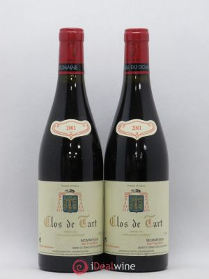 Clos de Tart Grand Cru Mommessin  2001 - Lot de 2 Bottles