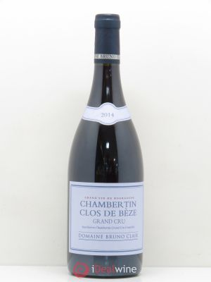 Chambertin Clos de Bèze Grand Cru Bruno Clair (Domaine)  (no reserve) 2014 - Lot de 1 Bottle
