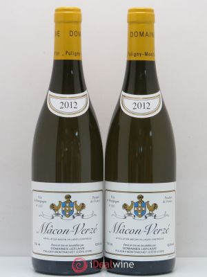 Mâcon Verzé Domaine Leflaive  (no reserve) 2012 - Lot de 2 Bottles