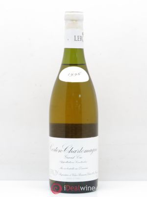 Corton-Charlemagne Grand Cru Leroy (Domaine)  1996 - Lot de 1 Bottle