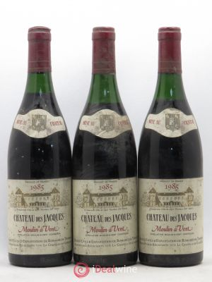 Moulin à Vent Château des Jacques  (no reserve) 1985 - Lot de 3 Bottles