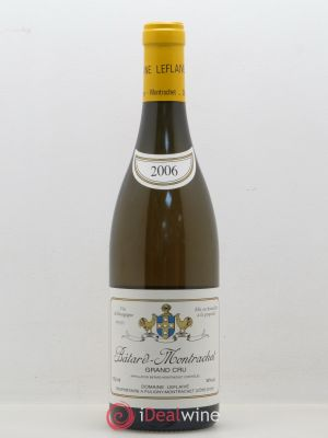 Bâtard-Montrachet Grand Cru Domaine Leflaive  (no reserve) 2006 - Lot de 1 Bottle