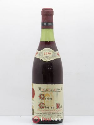 Corton Grand Cru Clos du Roi Dubreuil Fontaine (no reserve) 1979 - Lot de 1 Bottle