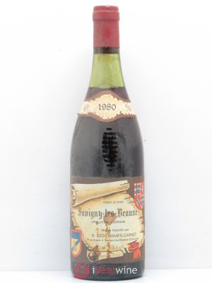Savigny-lès-Beaune Deschamps Carnet (no reserve) 1980 - Lot de 1 Bottle