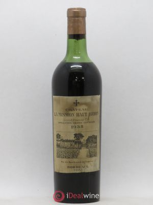 Château La Mission Haut-Brion Cru Classé de Graves  1938 - Lot de 1 Bottle