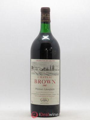 Château Brown  1987 - Lot de 1 Magnum