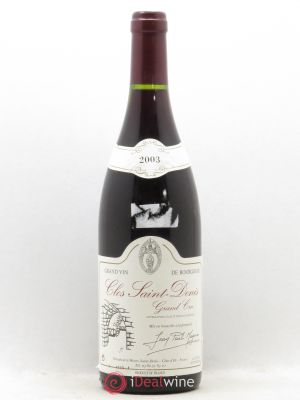 Clos Saint-Denis Grand Cru Jean-Paul Magnien 2003 - Lot de 1 Bottle