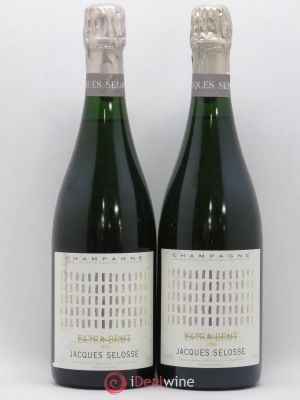 Extra Brut Grand Cru Blanc de Blancs Jacques Selosse  1996 - Lot de 2 Bottles