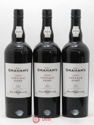 Porto Vintage Graham's  2000 - Lot de 3 Bottles