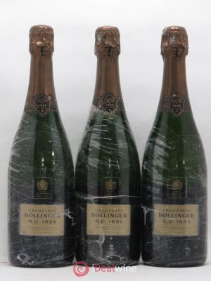 R.D. Bollinger  1996 - Lot de 3 Bottles