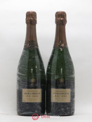 R.D. Bollinger  1996 - Lot de 2 Bottles