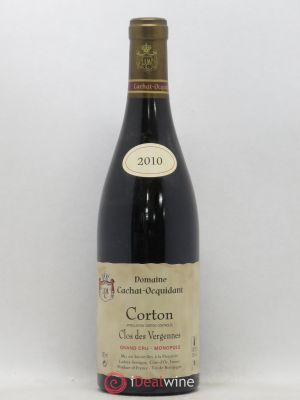 Corton Grand Cru Clos des Vergennes Domaine Cachat-Ocquidant (no reserve) 2010 - Lot de 1 Bottle