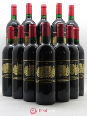 Bottle Château Palmer 3ème Grand Cru Classé  1995 - Lot de 12 Bottles