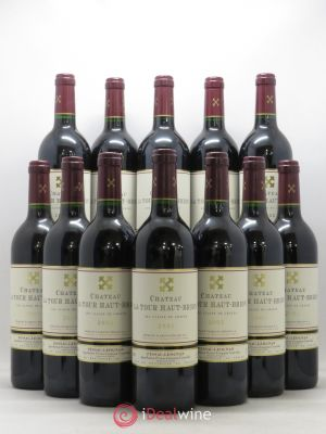 Bottle Château La Tour Haut-Brion Cru Classé de Graves  2002 - Lot de 12 Bottles