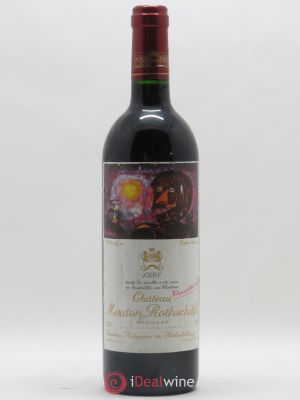 Château Mouton Rothschild 1er Grand Cru Classé  1998 - Lot de 1 Bottle