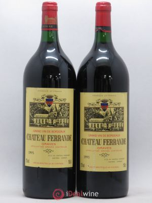 Château Ferrande Graves  (no reserve) 1993 - Lot de 2 Magnums