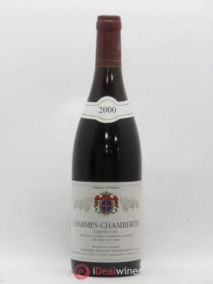 Charmes-Chambertin Grand Cru Dupont-Tisserandot (Domaine)  (no reserve) 2000 - Lot de 1 Bottle