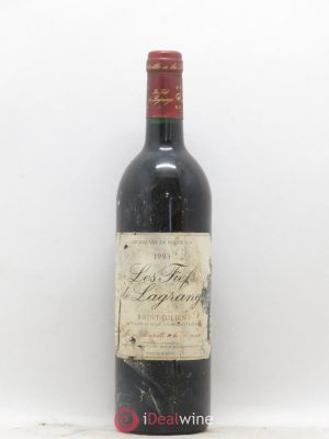 Les Fiefs de Lagrange Second Vin  1993 - Lot de 1 Bouteille