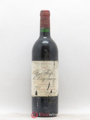 Les Fiefs de Lagrange Second Vin  1992 - Lot de 1 Bouteille