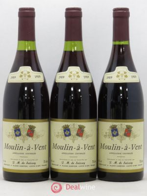 Moulin à Vent De Saissey (no reserve) 1989 - Lot de 3 Bottles