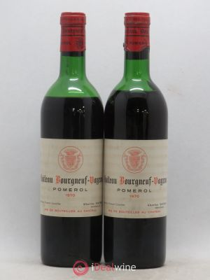 Château Bourgneuf Vayron  (no reserve) (no reserve) 1970