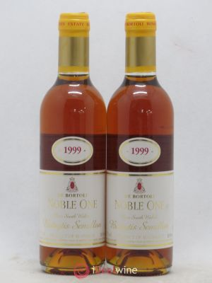 Australie Noble One Bortoli (no reserve) 1999 - Lot de 2 Half-bottles