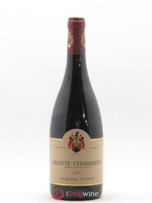 Griotte-Chambertin Grand Cru Ponsot (Domaine)  (no reserve) 2002