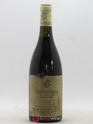 Clos de Vougeot Grand Cru Jean-Jacques Confuron  (no reserve) 1988 - Lot de 1 Bottle
