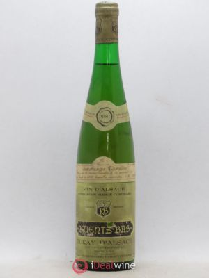 Pinot Gris (Tokay) Vendanges tardives Kuentz-Bas (no reserve) 1981 - Lot de 1 Bottle