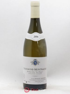 Chassagne-Montrachet 1er Cru Les Vergers Ramonet (Domaine)  (no reserve) 2006 - Lot de 1 Bottle