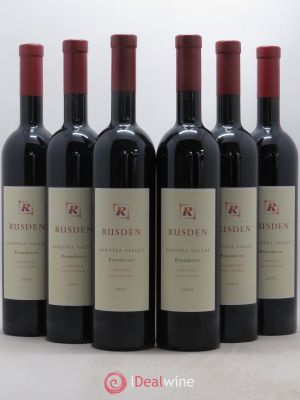Australie Boundaries Rusden Barossa Valley 2003 - Lot de 6 Bottles
