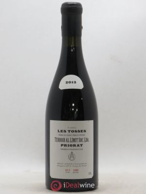 Priorat Terroir Al Limit Les Tosses  2013 - Lot de 1 Bottle