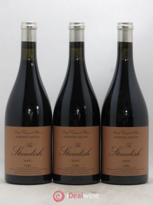 Australie Shiraz The Standish Barossa Valley 2005 - Lot de 3 Bottles