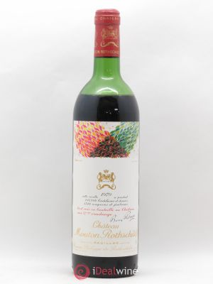 Château Mouton Rothschild 1er Grand Cru Classé  1979 - Lot de 1 Bottle