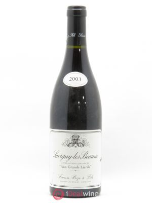 Savigny-lès-Beaune Aux Grands Liards Simon Bize & Fils  2003 - Lot de 1 Bottle